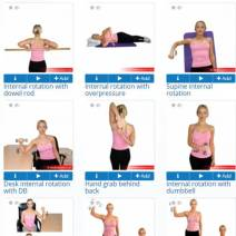 Exercise software exercises