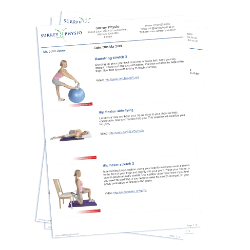 Exercises software