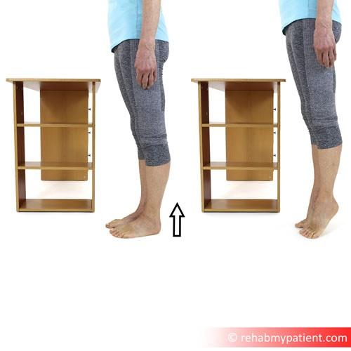 Gastrocnemius (leg) exercises