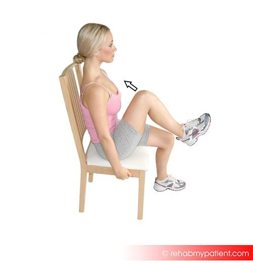 External hip rotator stretch