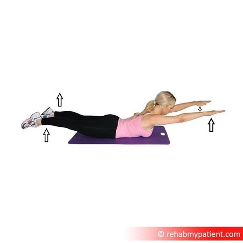 Semispinalis thoracis exercises