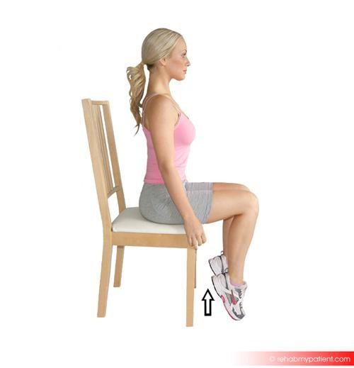 Tibialis posterior exercises